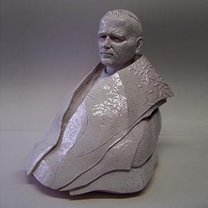 Scultura Ceramica Giovanni Paolo II